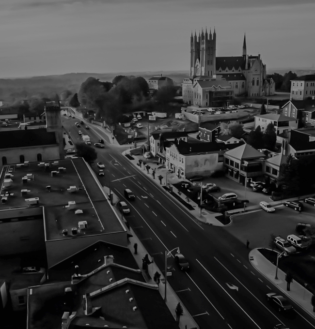 City of Guelph Arial View